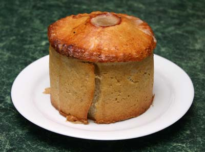 The first pork pie made in a tin