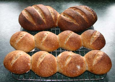 Two loaves and eight rolls - 7 July 2011