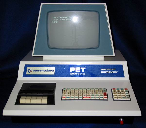 The 8K Commodore PET microcomputer